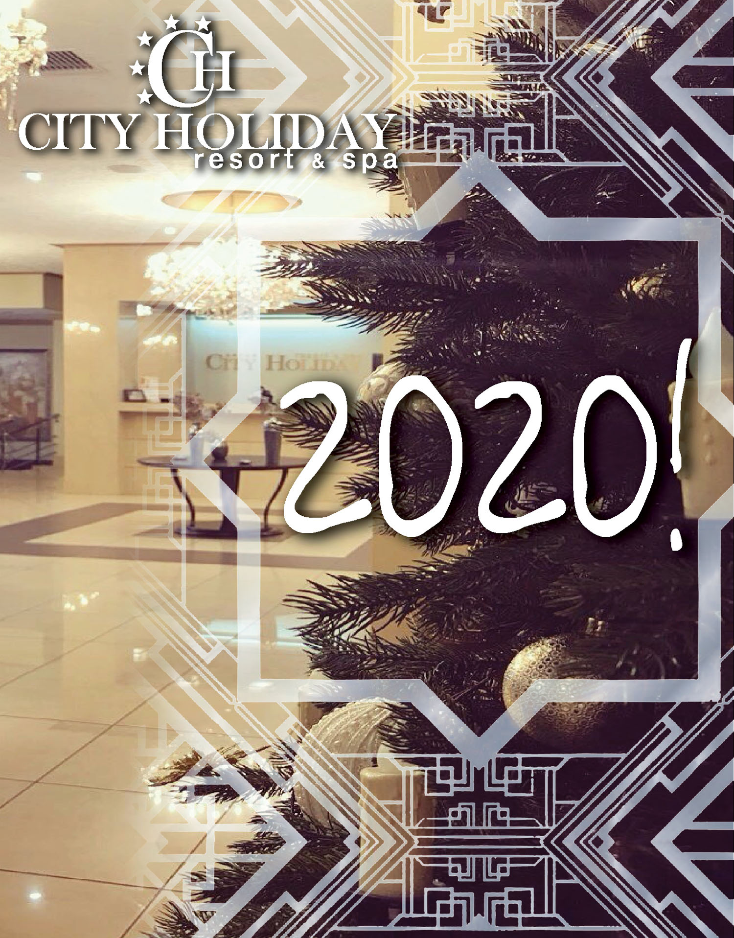 New Year 2020 and New Year holidays!