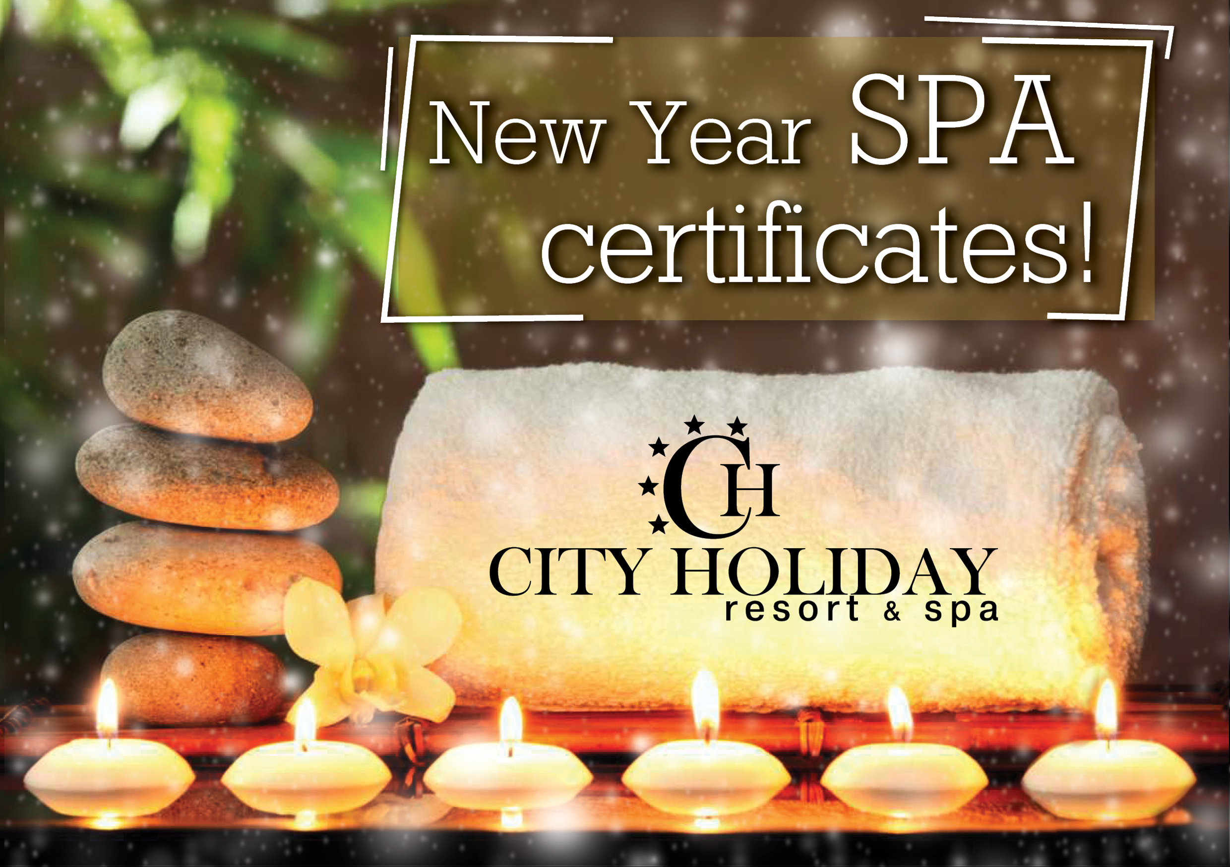 New Year SPA certificates!